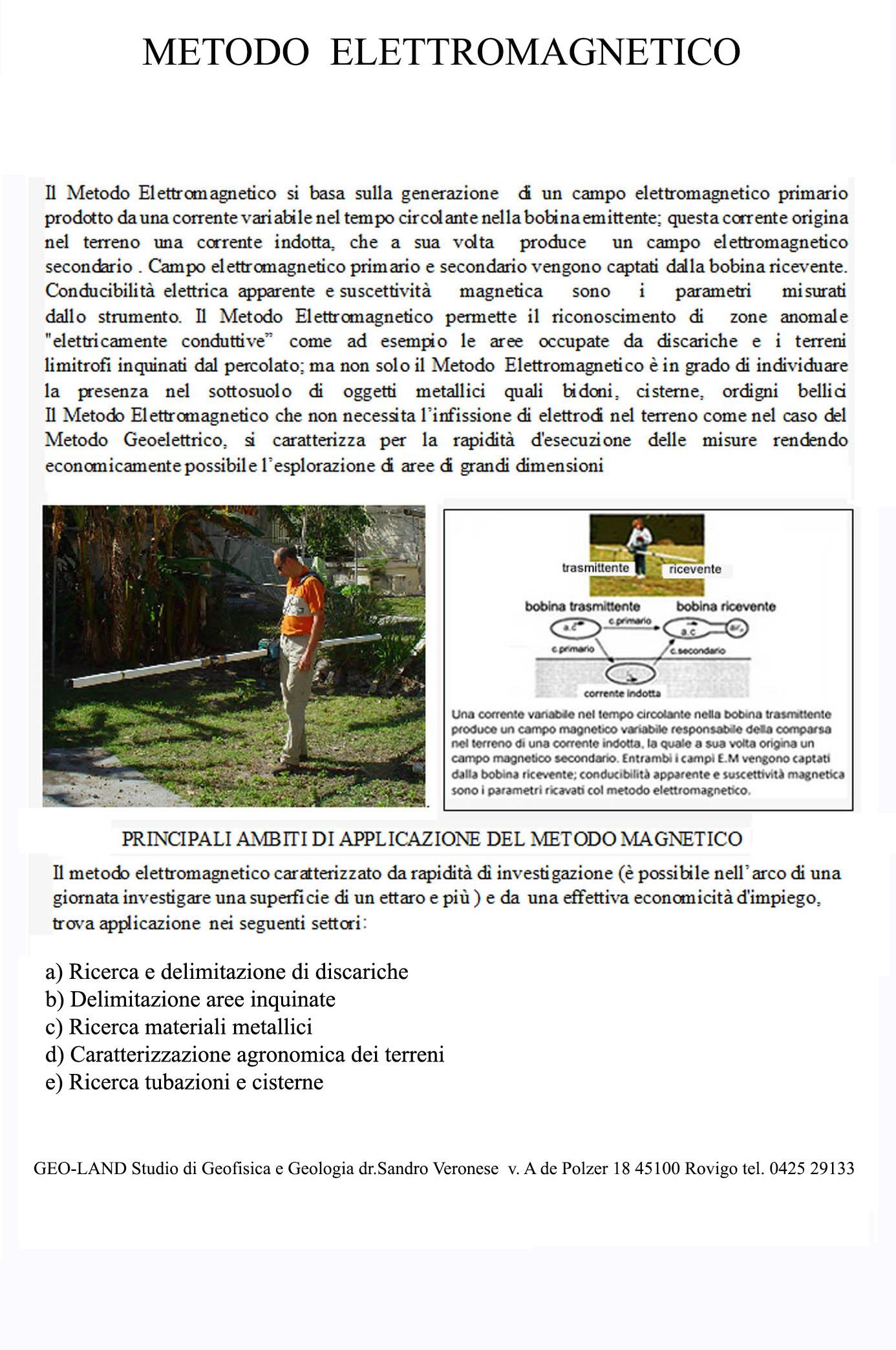 Metodo elettromagneticotris